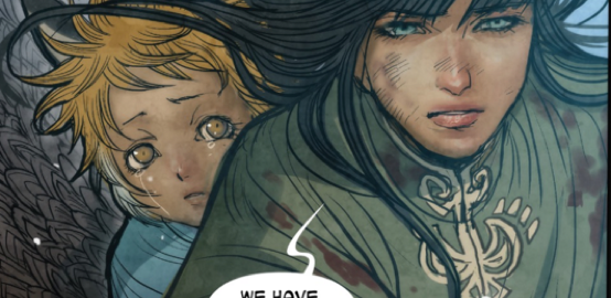 WiHM Librarian, Lizzy Walker, Reviews the Graphic Novel Monstress